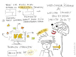 Virtual Reality Storytelling Momente Szenen