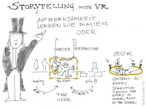 Storytelling with VR