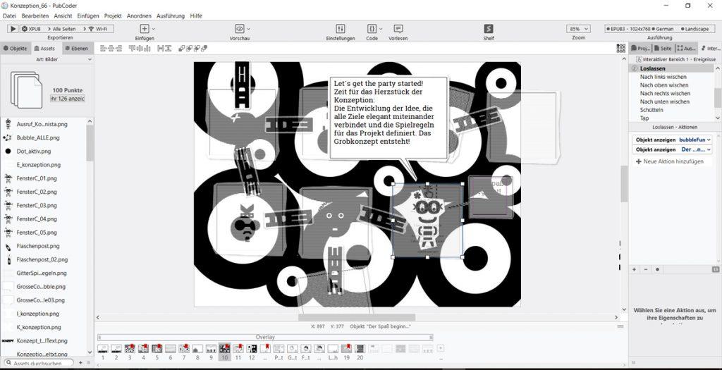 Pubcoder Interface